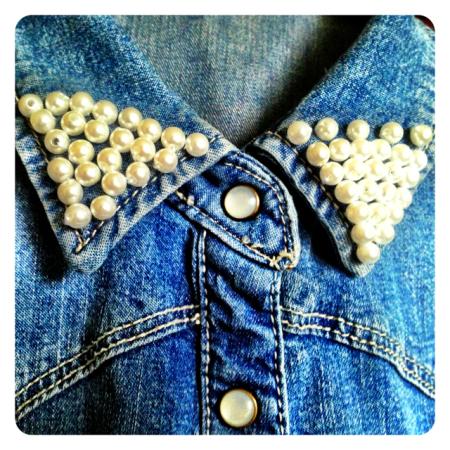 Jeans skjorte # 2