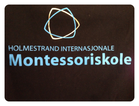 Holmestrand Internasjonale Montessoriskole logo