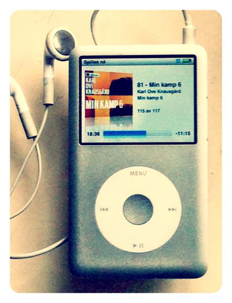 Min Kamp 6 på iPod