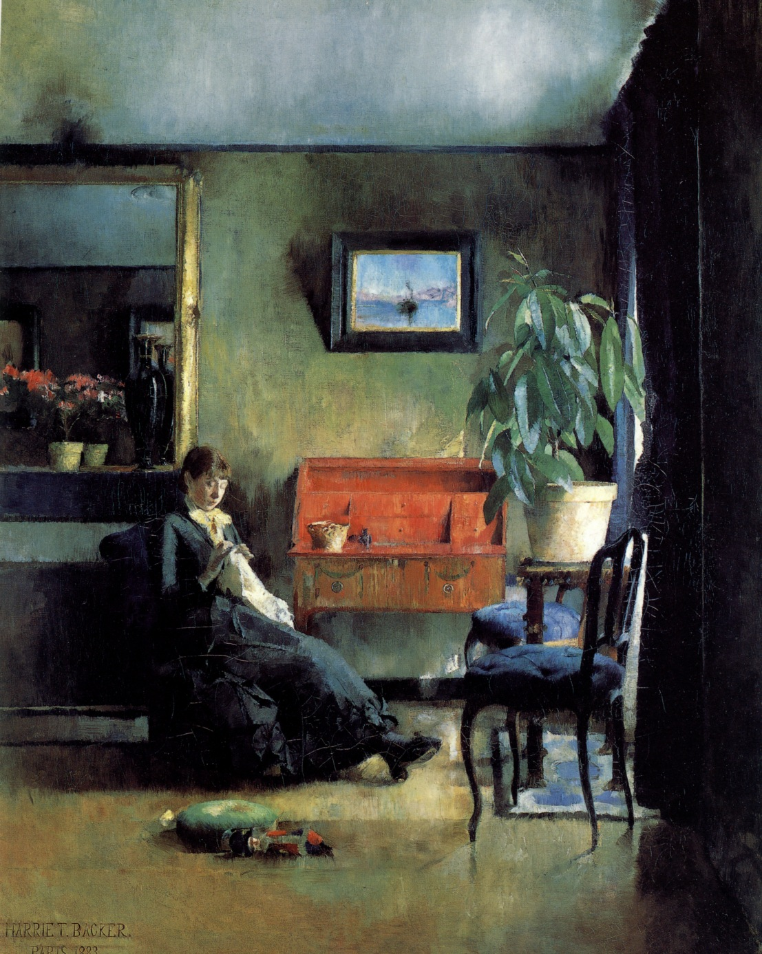 Harriet_Backer_Blatt_interior_1883