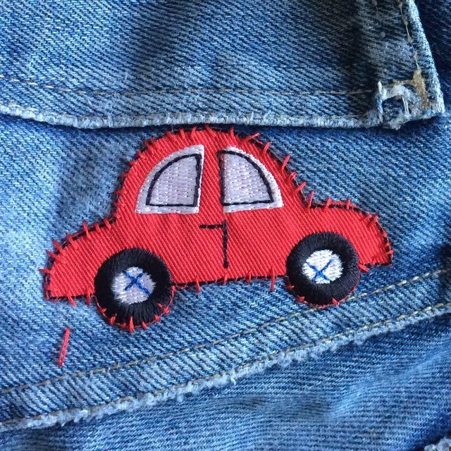 Waldemar syr på bil